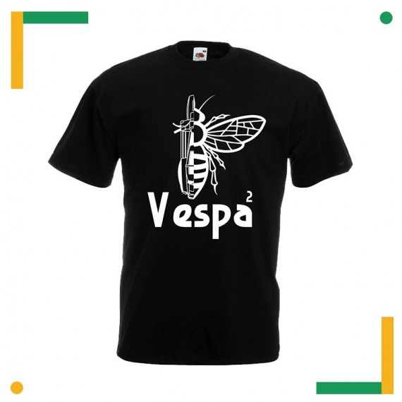 T-shirt Vespa alla seconda BiBrand Collection