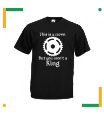 T-shirt Biker This is a Crown