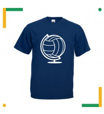 T-shirt Mappa Mondo Volley