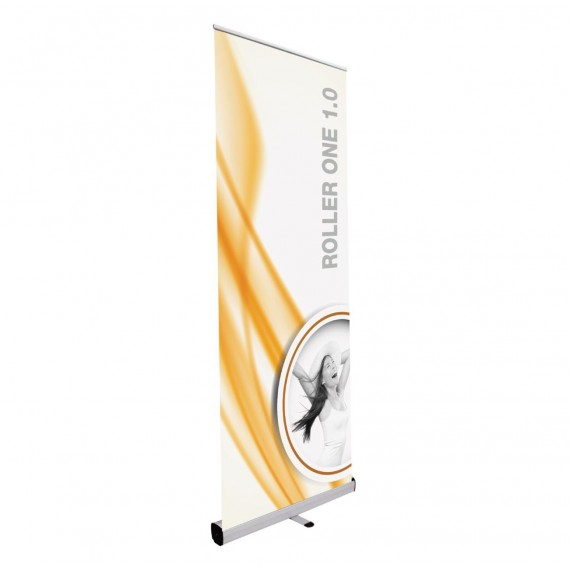 Roll Up mini espositore 50 x 160 cm avvolgibile