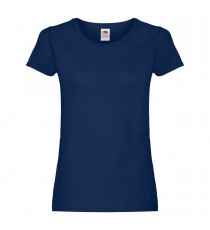 T-SHIRT DONNA MANICA CORTA ECO FRUIT OF THE LOOM