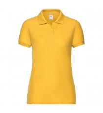 POLO DONNA MANICA CORTA ECO FRUIT OF THE LOOM